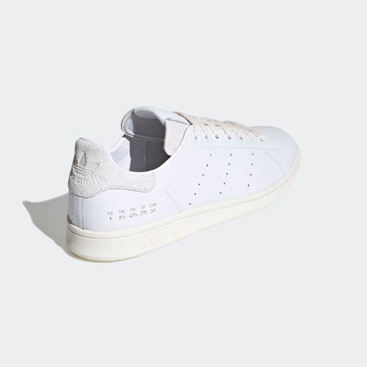 adidas- stan smith PRM cloud white- back side view