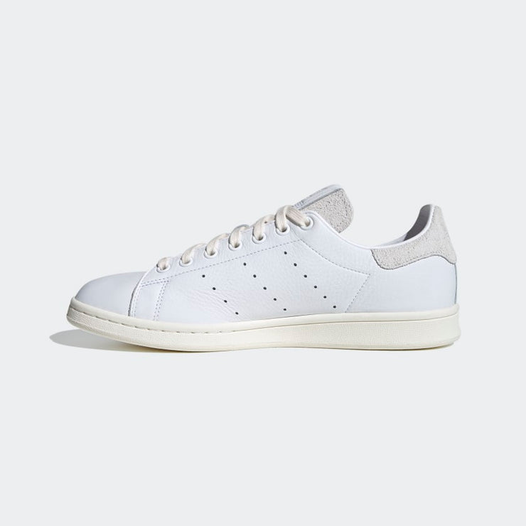 adidas- stan smith PRM cloud white- side view