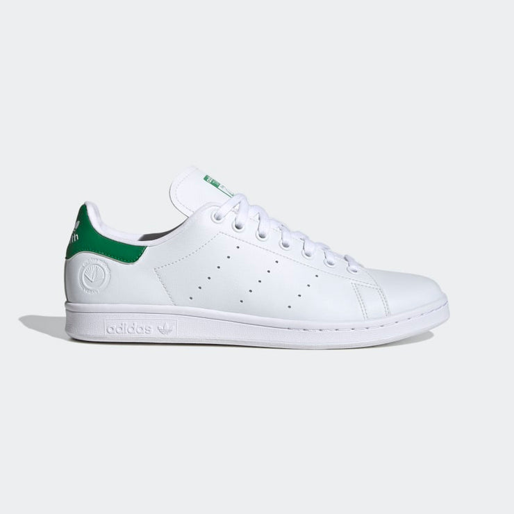 adidas- stan smith green vegan- side view