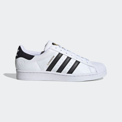 adidas- superstar vegan side view