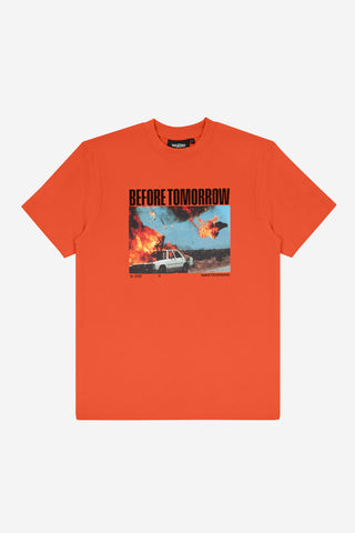 TOMORROW TEE ORANGE
