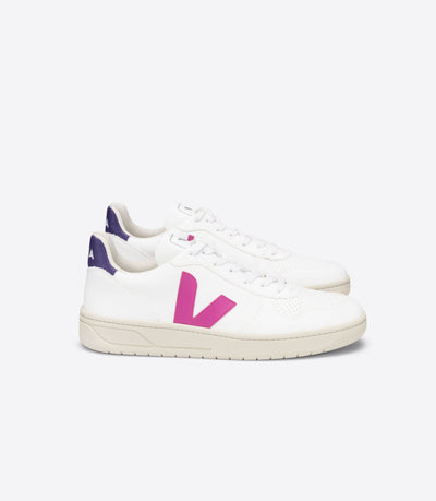 VEJA sneakers_V10 CWL vegan ultraviolet_ side view