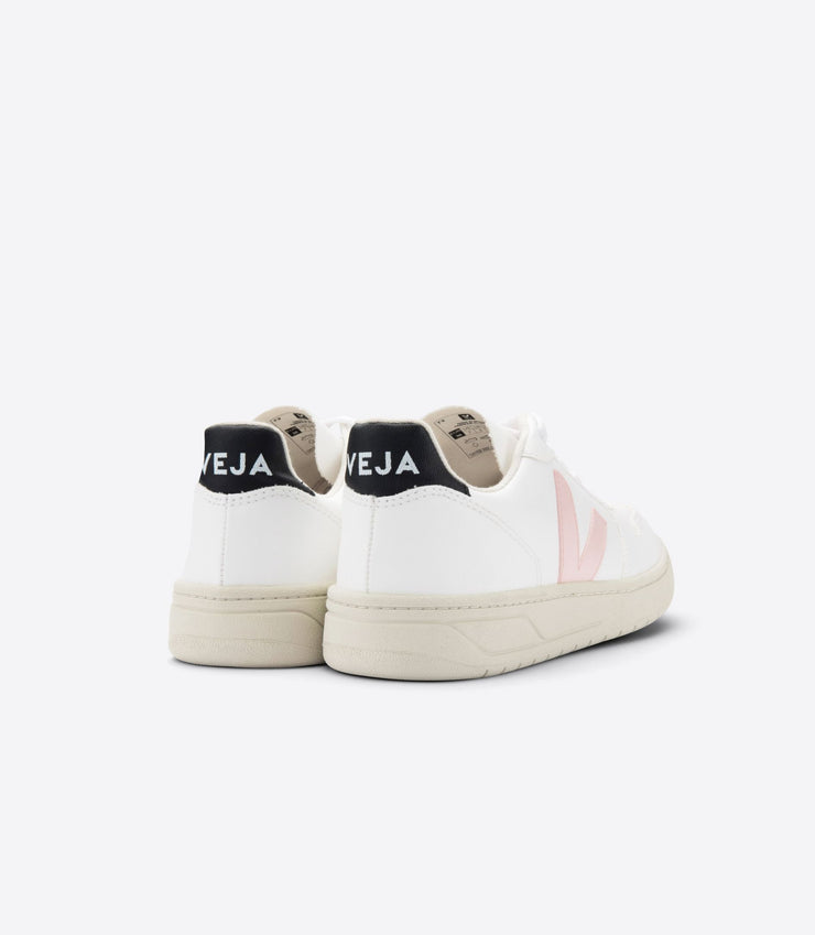 VEJA sneakers_V10 CWL vegan petale black_ back view