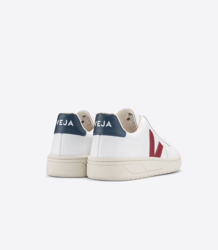 VEJA sneakers_V12 leather marsala_back view