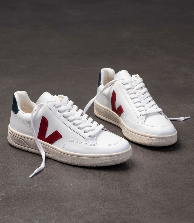 VEJA sneakers_V12 leather marsala