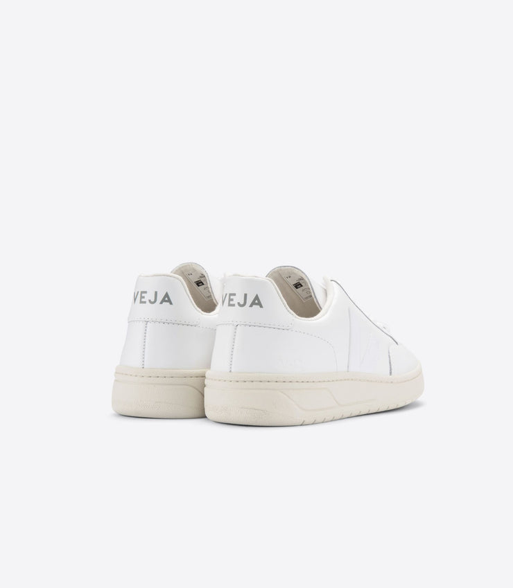 VEJA sneakers_V12 leather white_back view