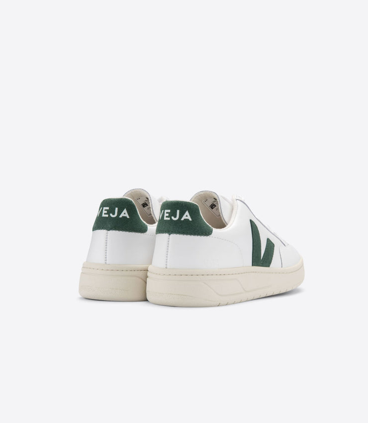 VEJA sneakers_V-12 leather extra white cyprus men_back view