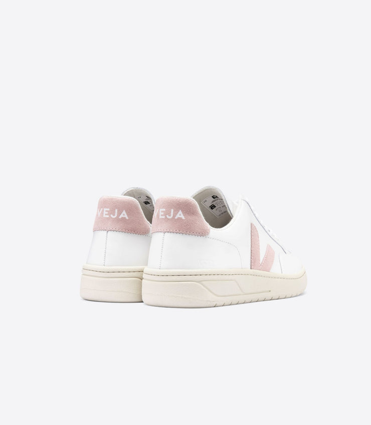 VEJA sneakers_V12 leather babe pale rose_back view