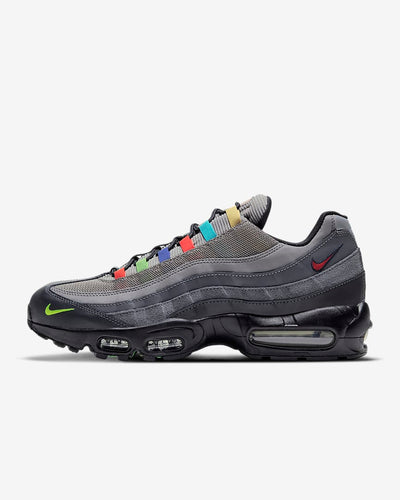nike - air max 95 SE multi with mini swoosh- side view