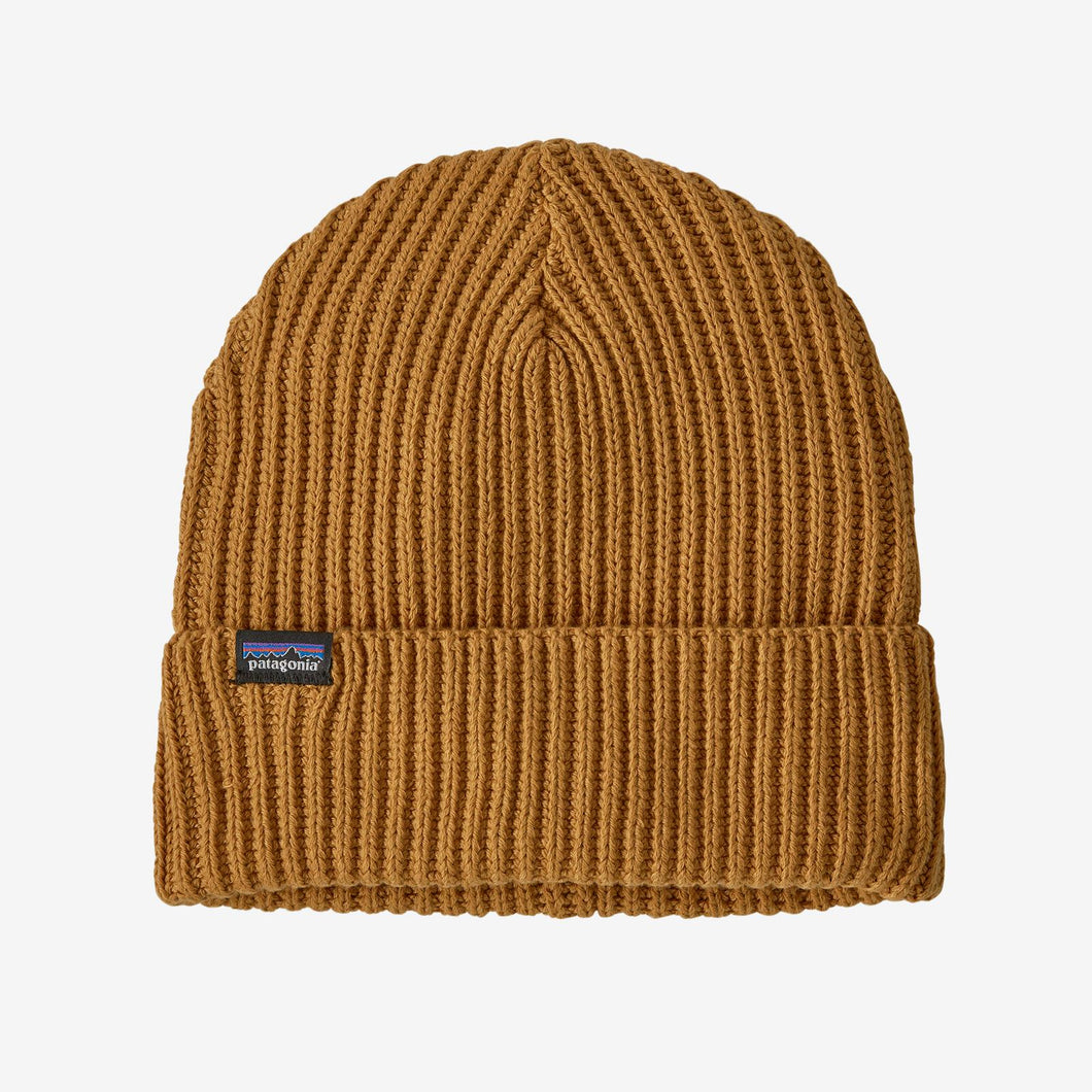 FISHERMANS ROLLED BEANIE CARAMEL