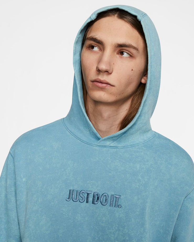 JUST DO IT HOODIE BLUE