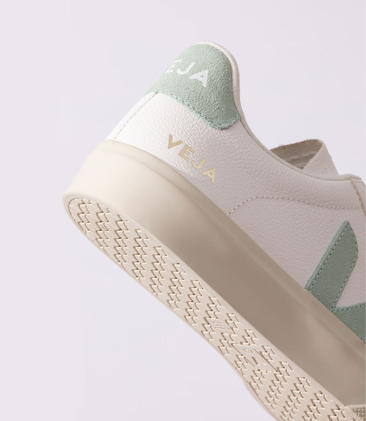 VEJA sneakers_CAMPO CHROMEFREE matcha_detailed view