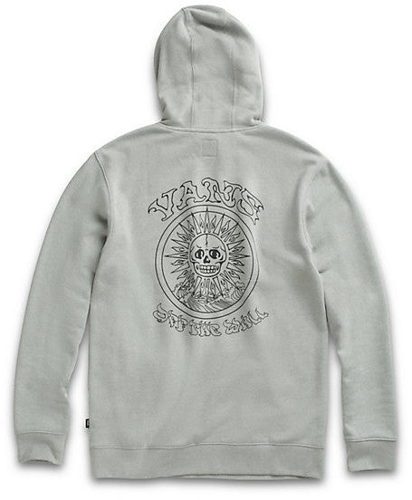 vans- el sole po hoodie grey - back view