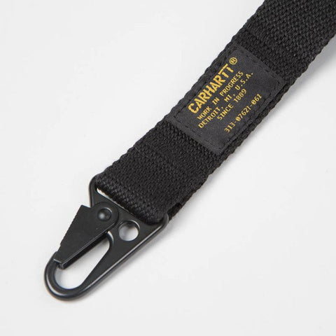 MILITARY KEYCHAIN LONG BLACK