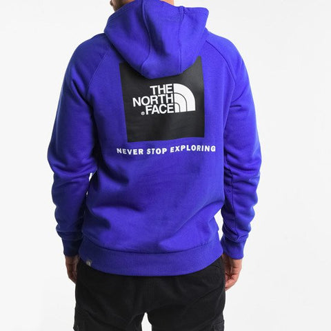 RAGLAN RED BOX HOODIE PURPLE