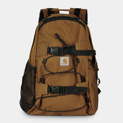 carhartt wip - kickflip backpack brown - front view