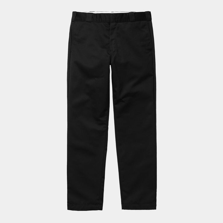 carhartt wip_master pant black cotton_black view