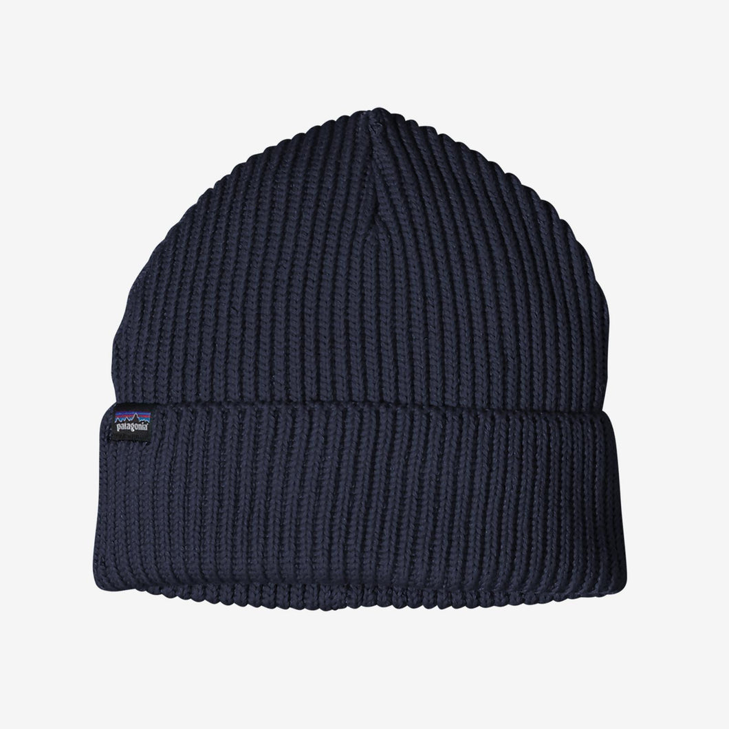 FISHERMANS ROLLED BEANIE NAVY