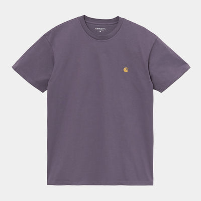 carhartt wip_chase tee provence_front view
