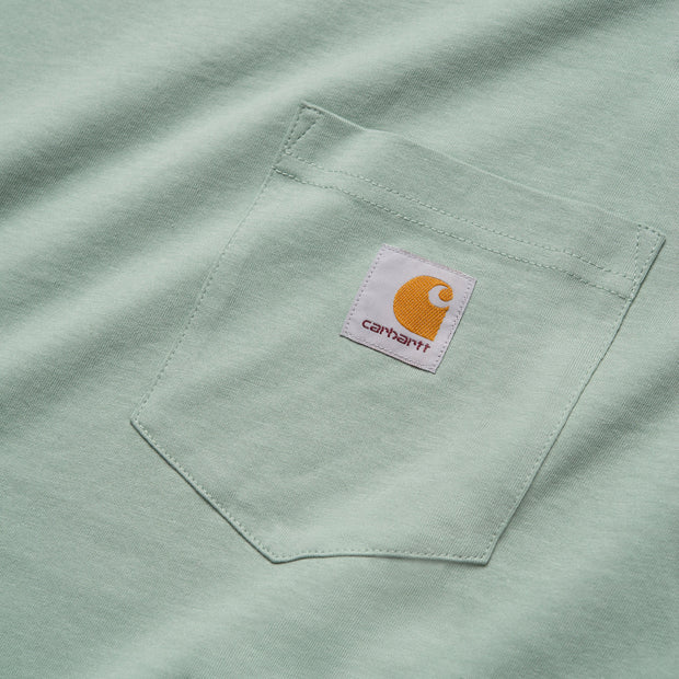 POCKET TEE FROSTED GREEN