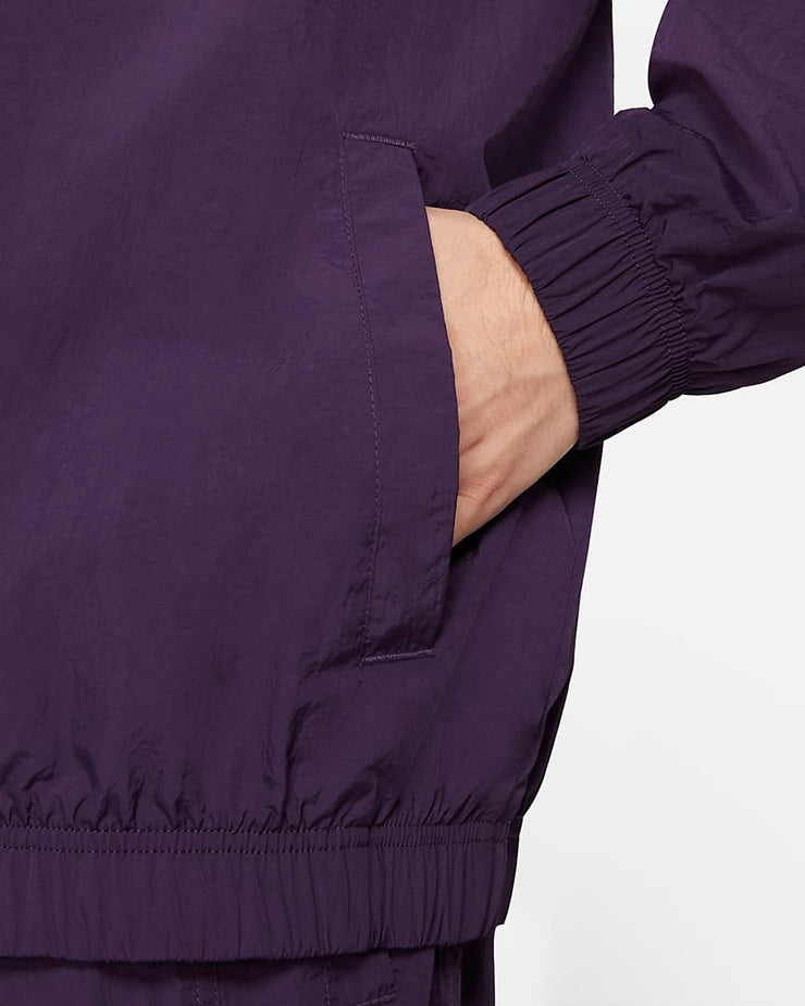 nike_heritage wind runner jacket_purple_pocket view