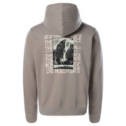 TheNorthFace_warped graphic hoodie mineral grey_back-view