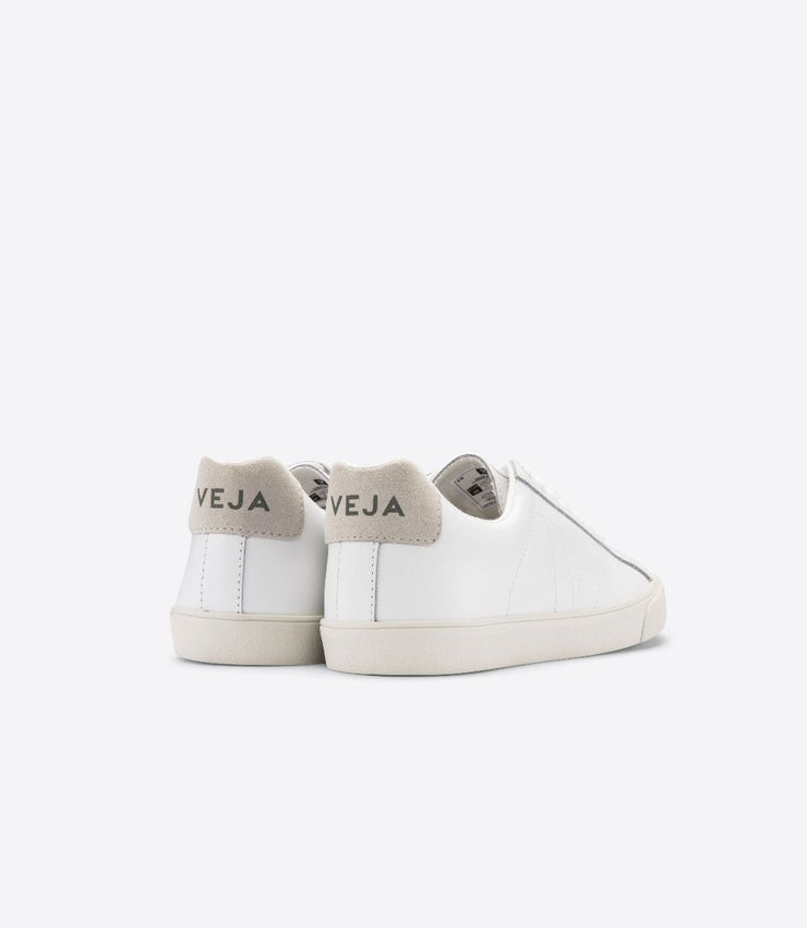 VEJA sneakers_Esplar leather white_ back view