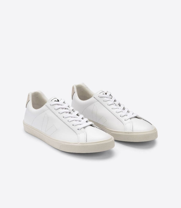 VEJA sneakers_Esplar leather white_ front view