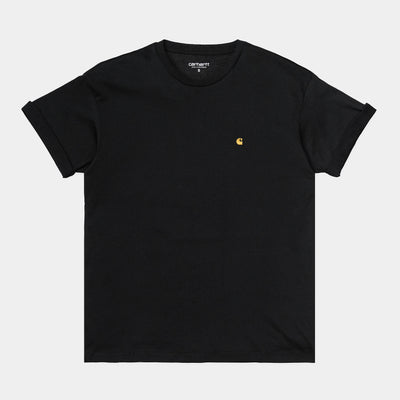 carhartt wip_chasy tee women black_front view