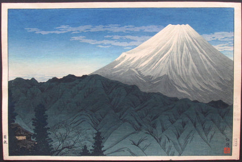 "Takahashi Shotei ""Mt. Fuji from Hakone"""