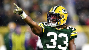 Aaron Jones of the Green Bay Packers.