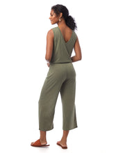 Load image into Gallery viewer, Alternative Sleepless Cropped Jump Suit Army Green