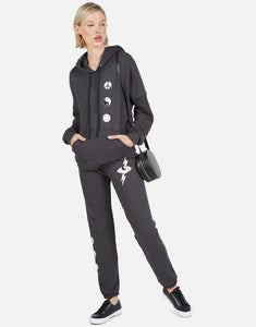 LM Gia Long Sweatpant Star Lightening Eye Onyx