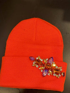 Short Jewelled Hat