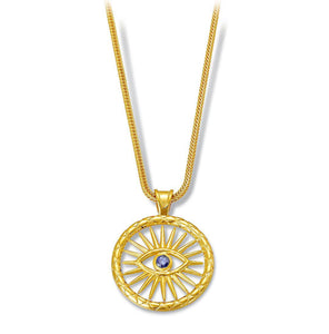 Karak Vergina Sun Necklace LRG