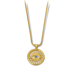 Karak Vergina Sun Necklace MED