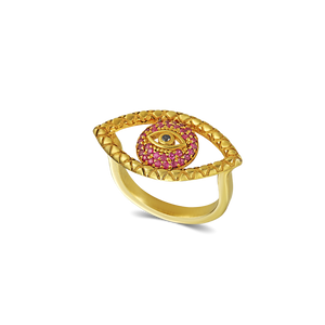 Karak Tychon Evil Eye Ring M