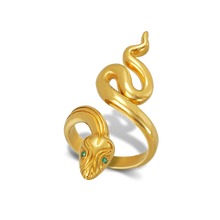 Load image into Gallery viewer, Karak Euryale Snake Ring