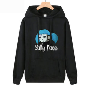 Game Sally Face Hoodies Long Sleeve Autumn Winter Sweatshirts Unisex Clothes Tops