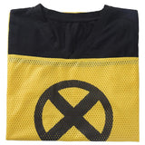 Unisex Deadpool Short Sleeved Yellow Mesh Cosplay T-Shirt