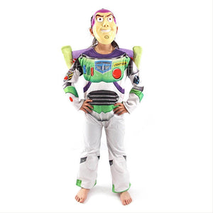 Toy Story 4 Buzz Light Year Halloween Cosplay Costume Kids