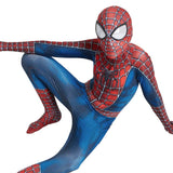 Kids Spider-Man Raimi Spiderman Cosplay Costume Halloween Zentai Superhero Bodysuit Suit Jumpsuits