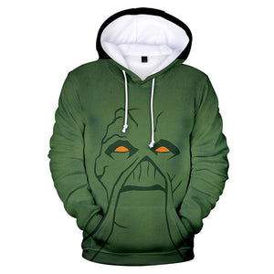 Unisex Swamp Thing Pullover Hoodies 3D Print Jacket Sweatshirt