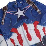 Kids Avengers: Endgame Captain America Costume Halloween Cosplay Costume