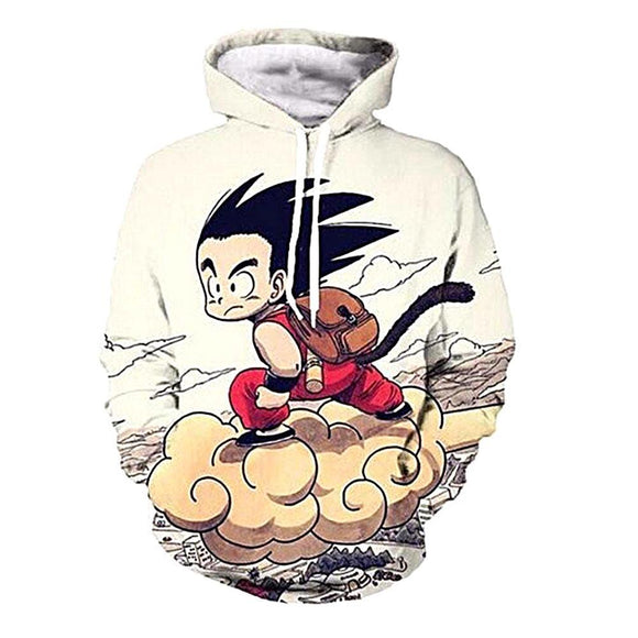 Unisex Fashion Hoodies 3D Print Dragon Ball Z  Pullover Jacket Sweatshirt