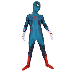 Adult My Hero Academy Midoriya Izuku Spiderman Jumpsuit Costume