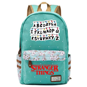 Kids Stranger Things Lightweight Backpack Stranger Things Laptop Bag Boys Girls Back to School Gift