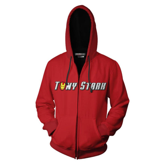 The Avengers Endgame Tony Stark Iron Man Jacket Hoodie