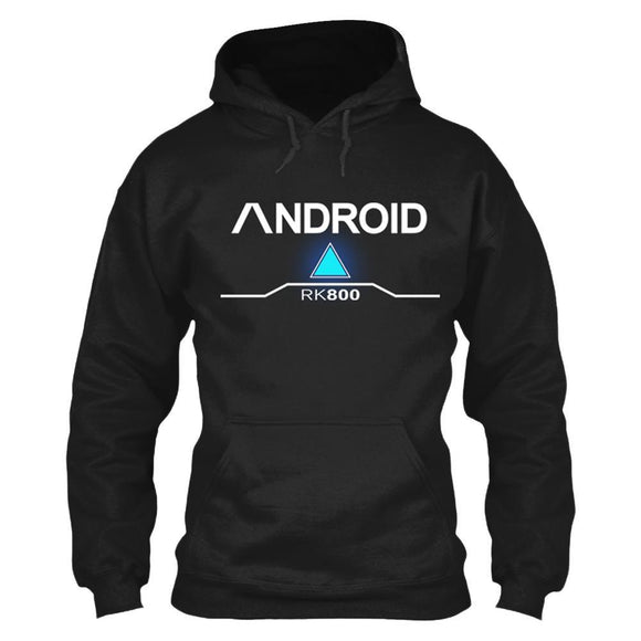 Unisex Connor Hoodies Detroit Become Human RK800 Pullover 3D Print Sweatshirt