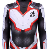 The Avengers Endgame Quantum Realm Suits Cosplay Jumpsuit Halloween Zentai Lycra Bodysuits